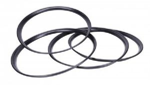 Hubcap Trim Ring Set finished in Black for VW Models 1947 to 1979